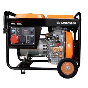 Генератор Daewoo DDAE 6100XE-3