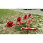 Грабли-ворошилки Biardzki на 4 колеса