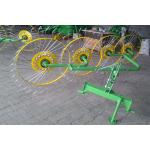 Грабли-ворошилки Солнышко на 4 колеса