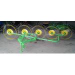 Грабли ворошилки Солнышко на 5 колес